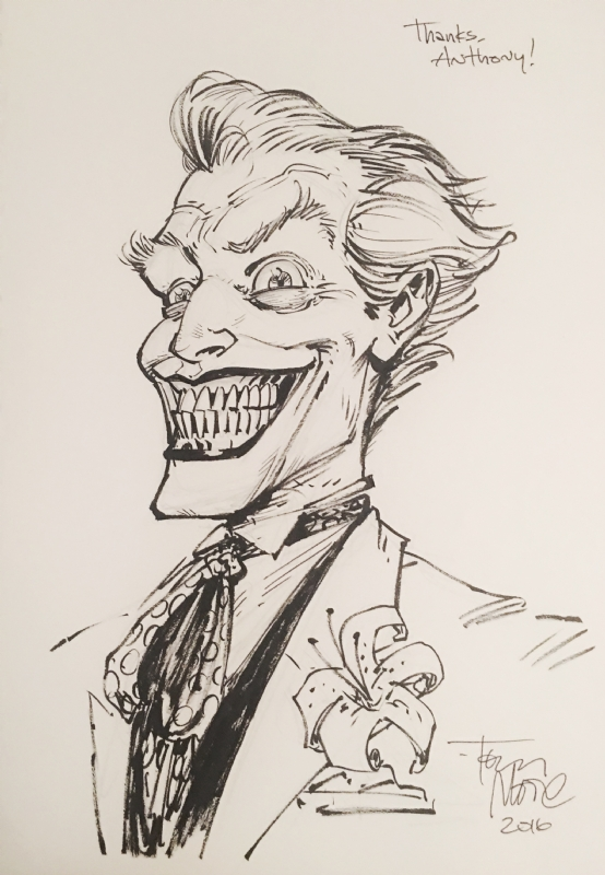 554x800 Joker By Tony Moore Comic Art Joker's Smile Joker