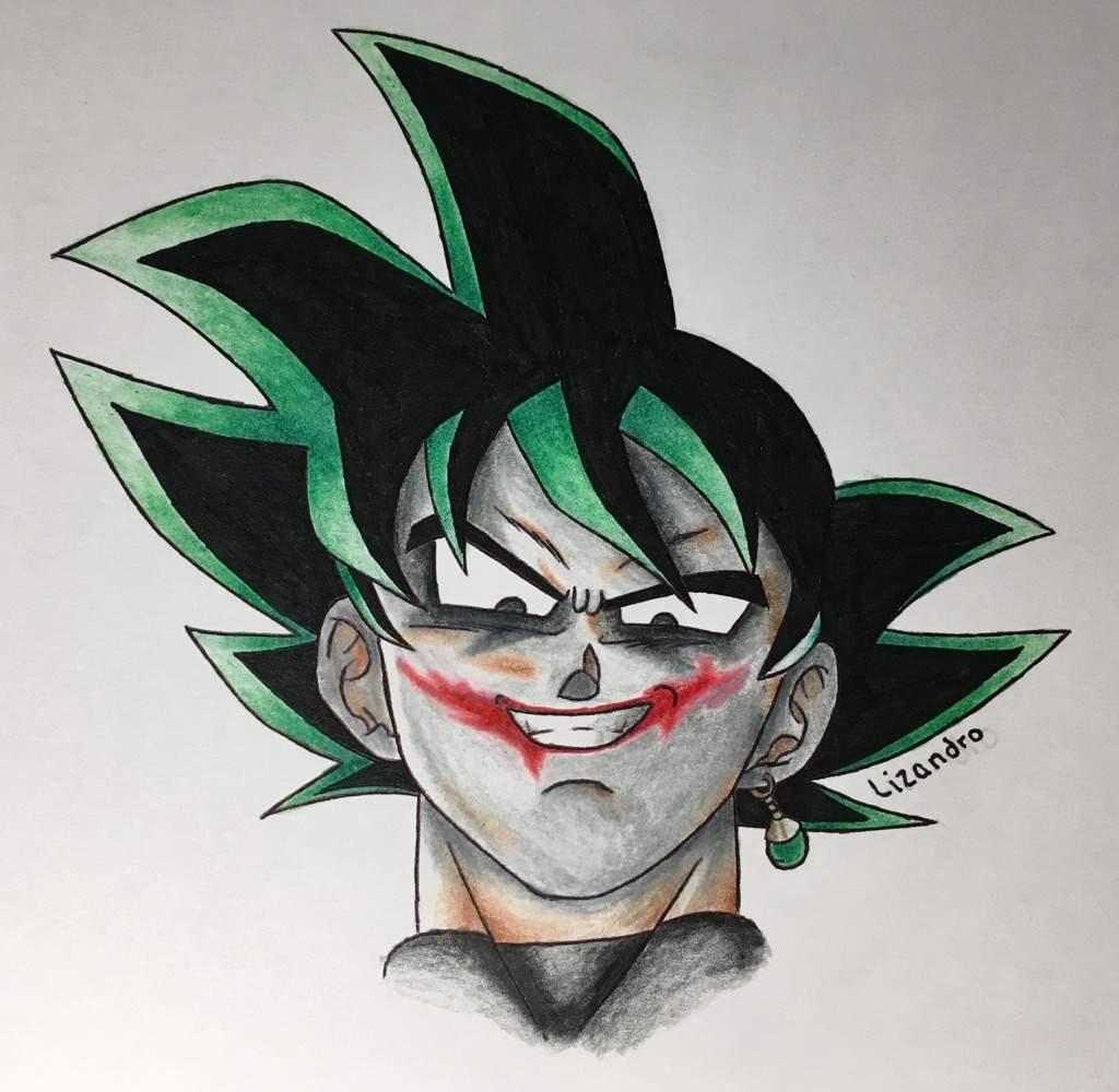 1024x1000 Joker Goku Black Drawing Dragonballz Amino