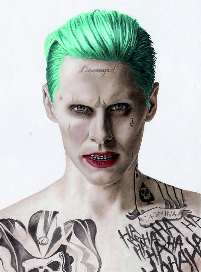 665x900 The Joker Fanart Drawing By Jasmina Susak