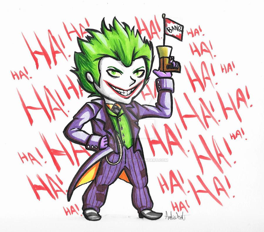 900x790 Cartoon Joker (Chibi) By Comicsbyandie