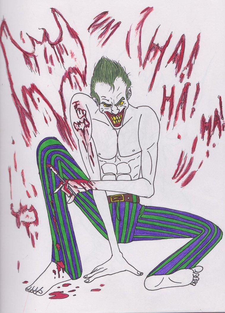 758x1055 Joker's Valentine By Algelis