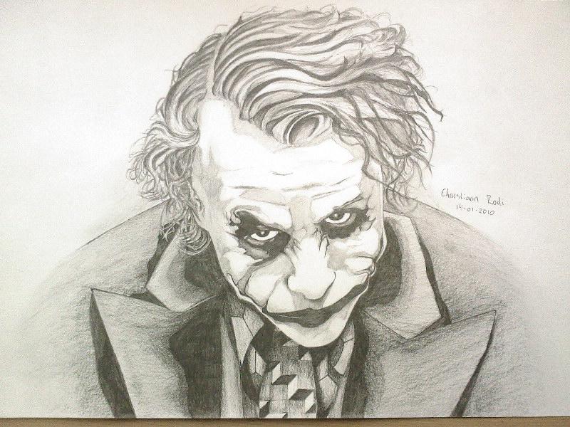800x600 Joker Drawing 14 01 2010 By Christiaanr1990