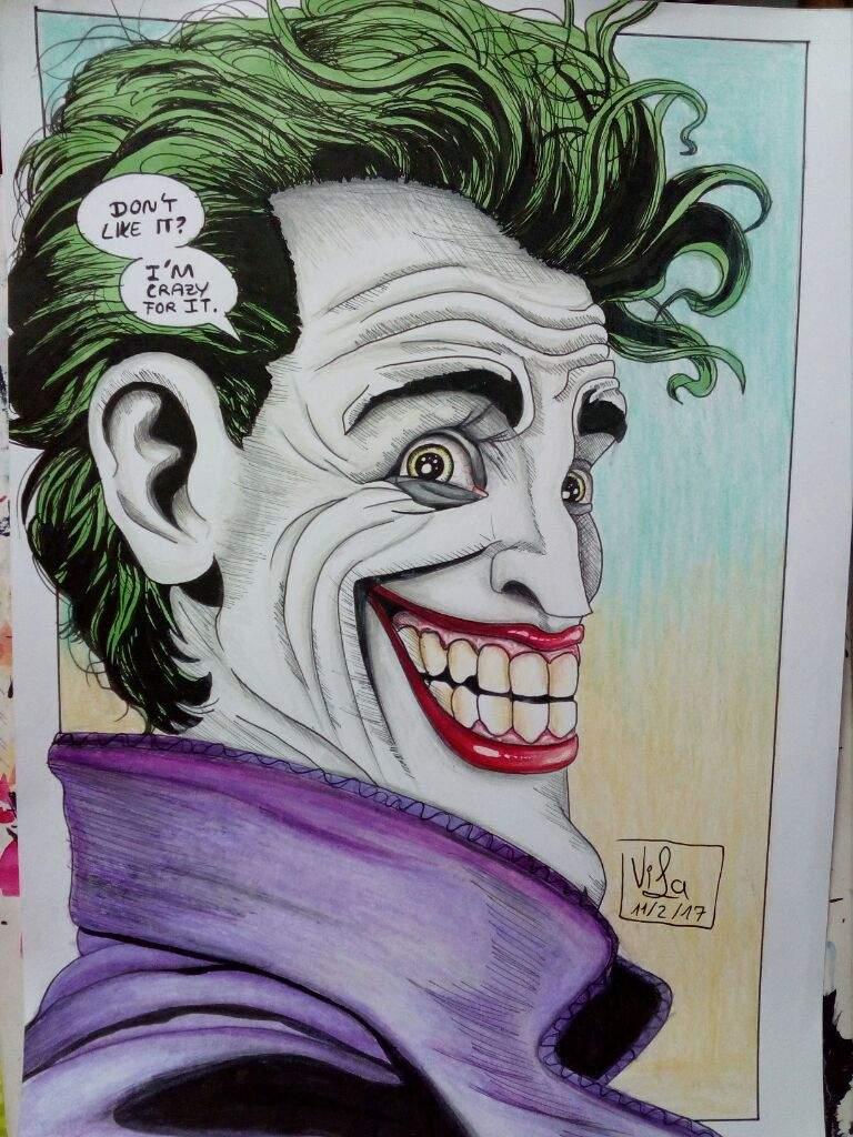 768x1024 Killing Joke Joker Drawing Dc Entertainment Amino