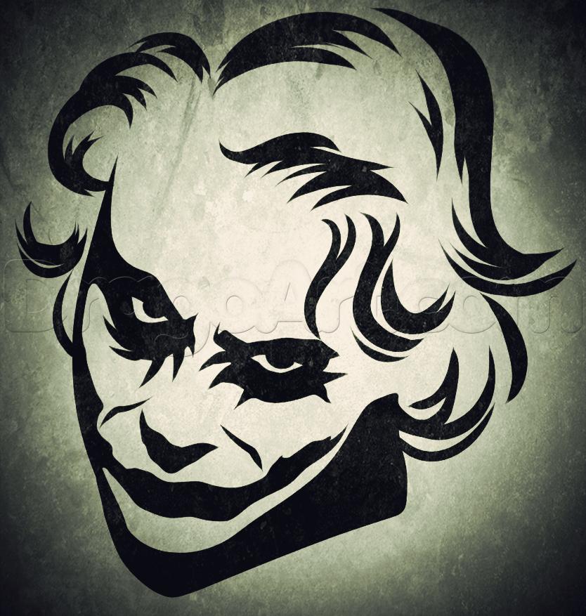 834x877 How To Draw Tribal Joker Art Joker, Drawings