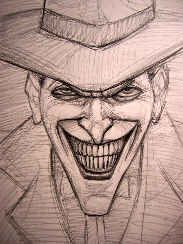 720x960 Pictures Sketches Of The Joker