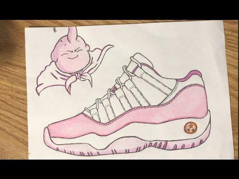 480x360 Custom Shoe Air Jordan 11 Low University Buu