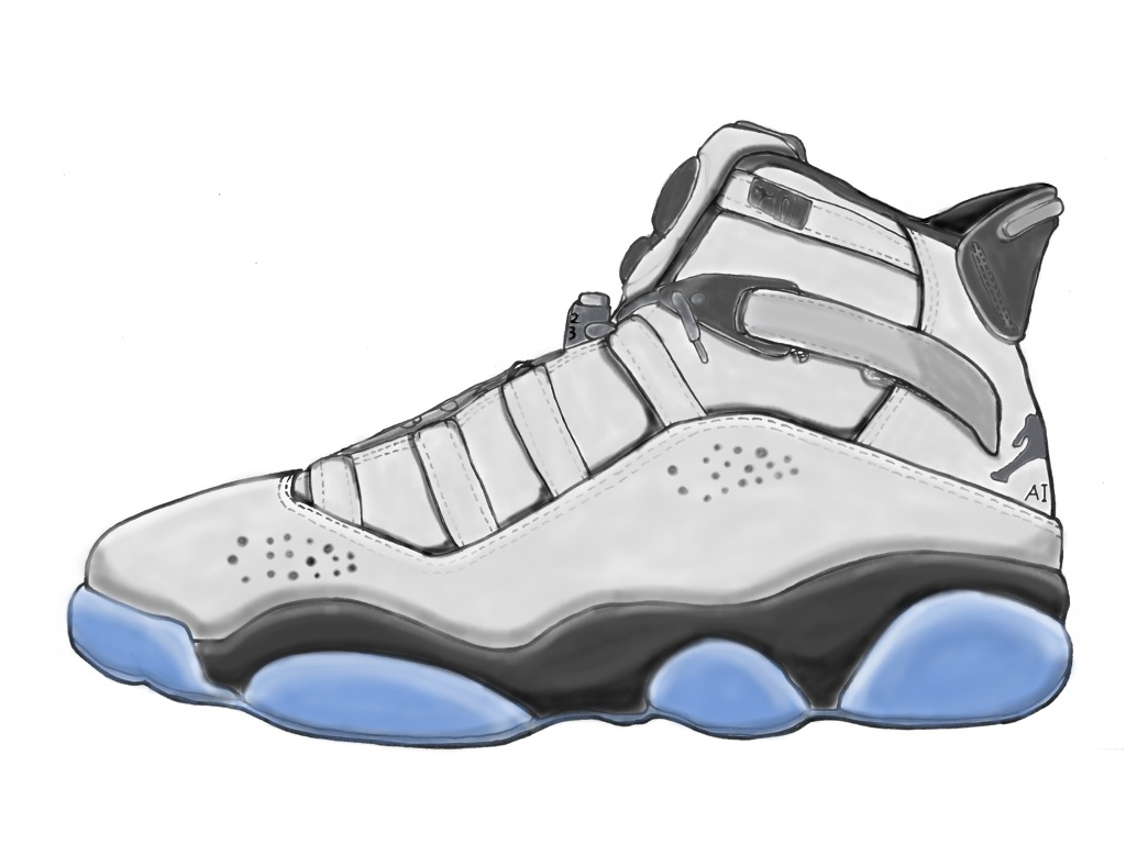 1024x768 Jordan 6 Ring Sketch Jordan Outlet