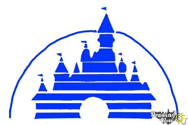 600x400 How To Draw The Disney Logo