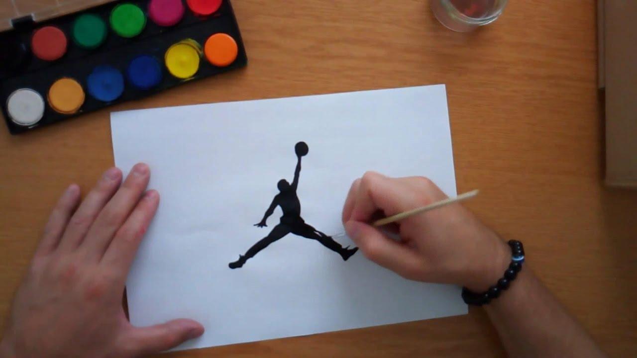 1280x720 How To Draw The Jordan Logo