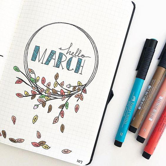 564x564 20 Tips On How To Make Your Bullet Journal Look Really Pretty