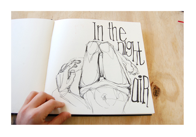670x471 Drawing Journal