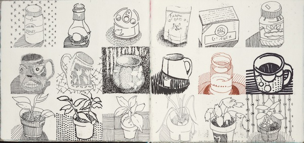 600x283 Grid Drawing From Doodle Draw Journal