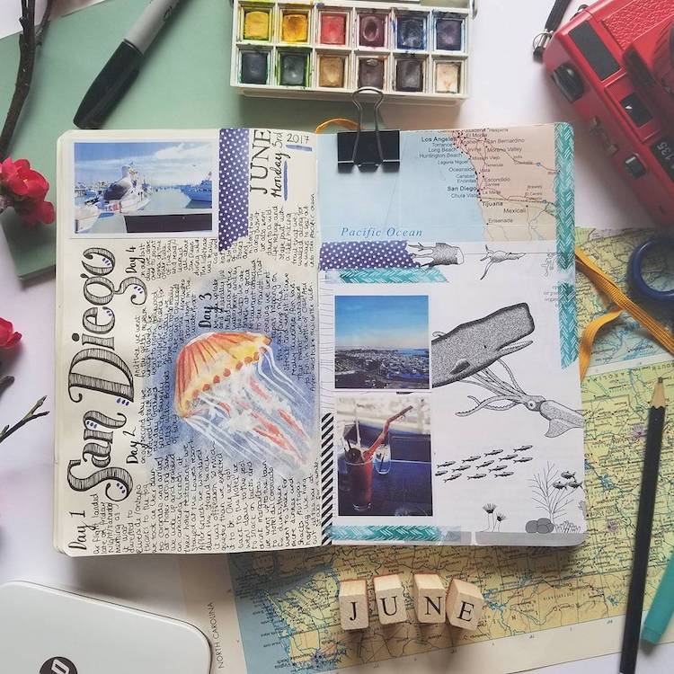 750x750 How To Combine Drawing And Writing Into Deeply Personal Art Journals
