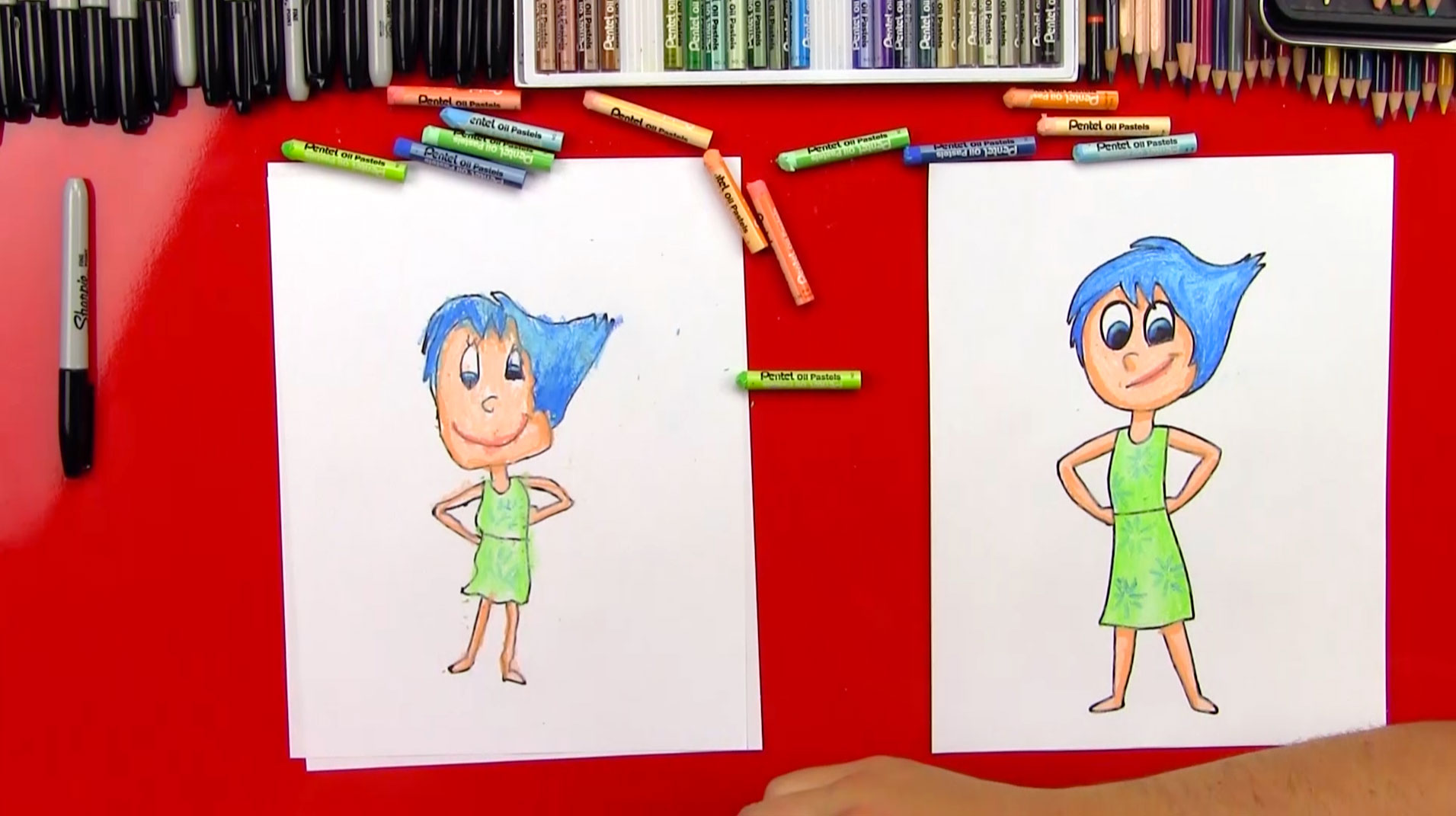 Disney Inside Out Coloring Pages Pdf : Joy inside out drawing at getdrawings.com free for personal use