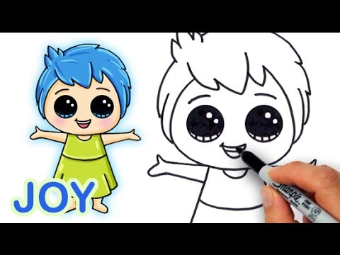 480x360 How To Draw Joy From Pixar Inside Out Cute And Easy