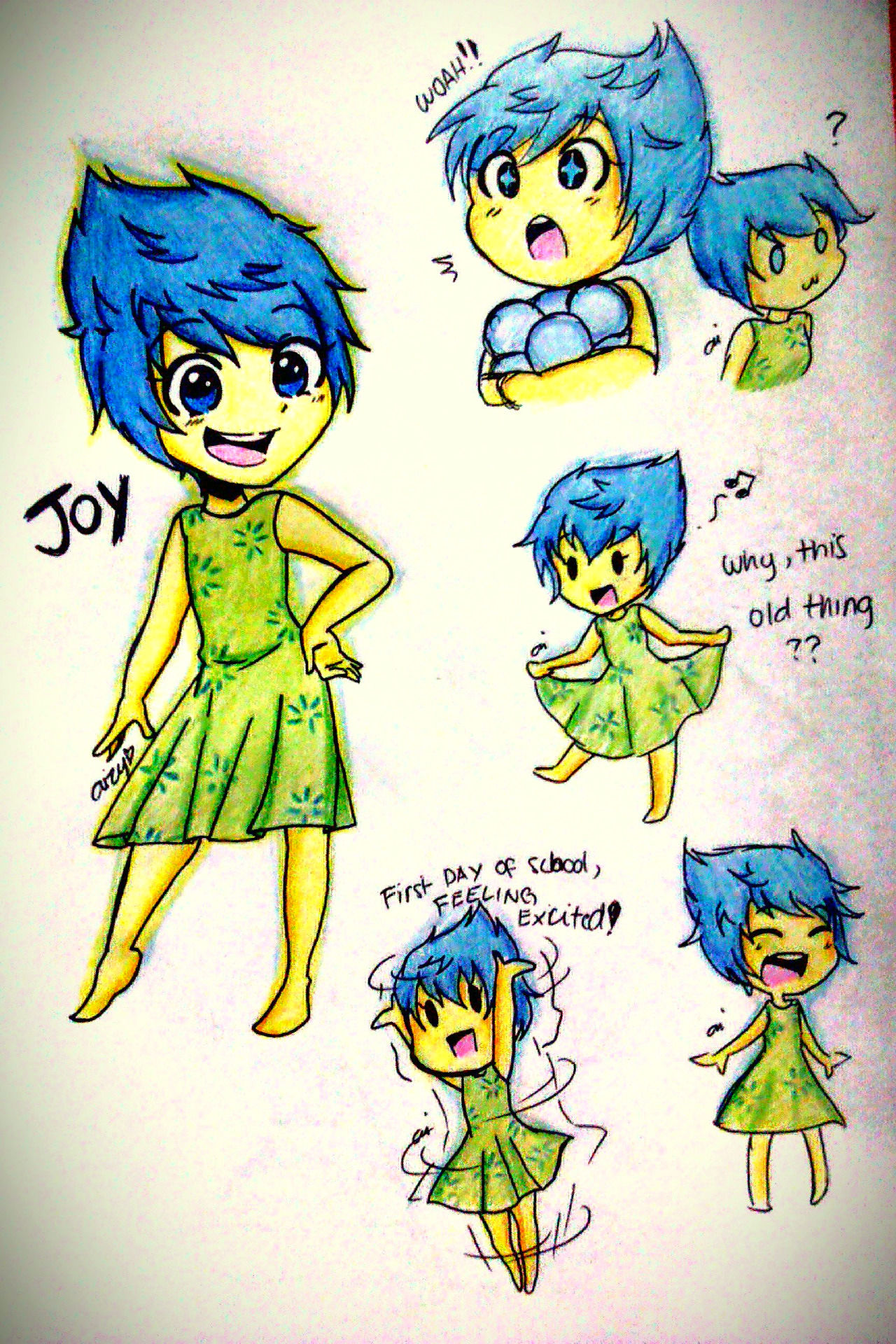 1280x1920 These 10 Incredible Fan Art Interpretations Of Inside Out Will