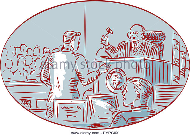 640x460 Justice Court Scene Judge Drawing Stock Photos Amp Justice Court