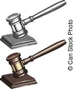 148x179 Judge Gavel In Hand Symbol, Vector Clip Art Vector