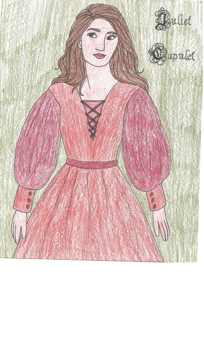 696x1147 Juliet Capulet Drawing by julietcapulet432 on DeviantArt