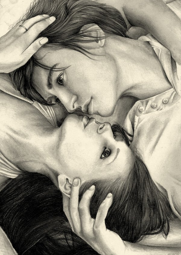 600x847 Romeo and Juliet by essmaa on DeviantArt
