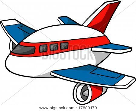 450x367 Jumbo Jet Vector Illustration Vector Amp Photo Bigstock