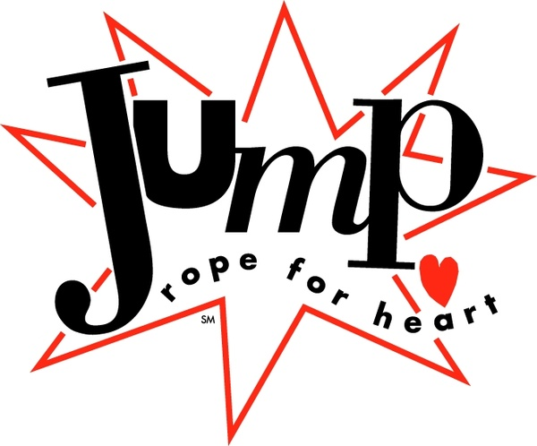 600x498 Jump Rope For Heart Free Vector In Encapsulated Postscript Eps