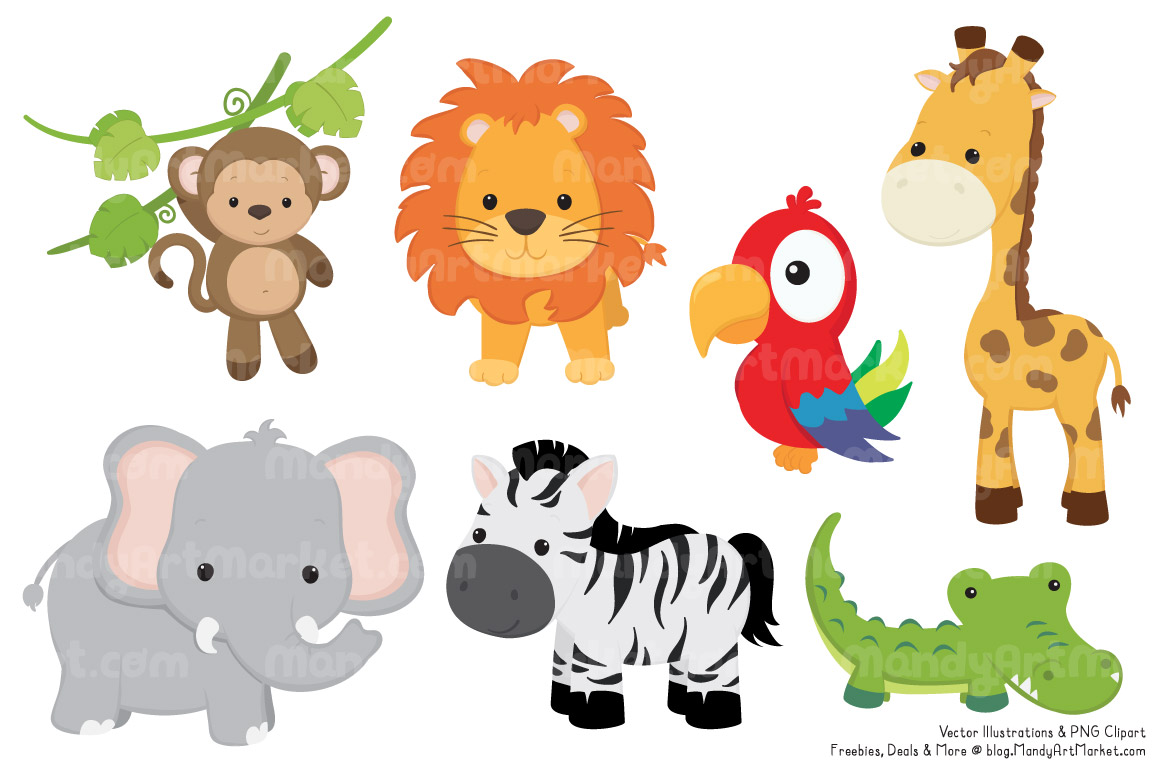 jungle animals drawing at getdrawings com free for personal use