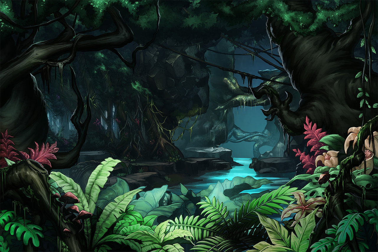 1280x853 Jungle Background By Papillonstudio