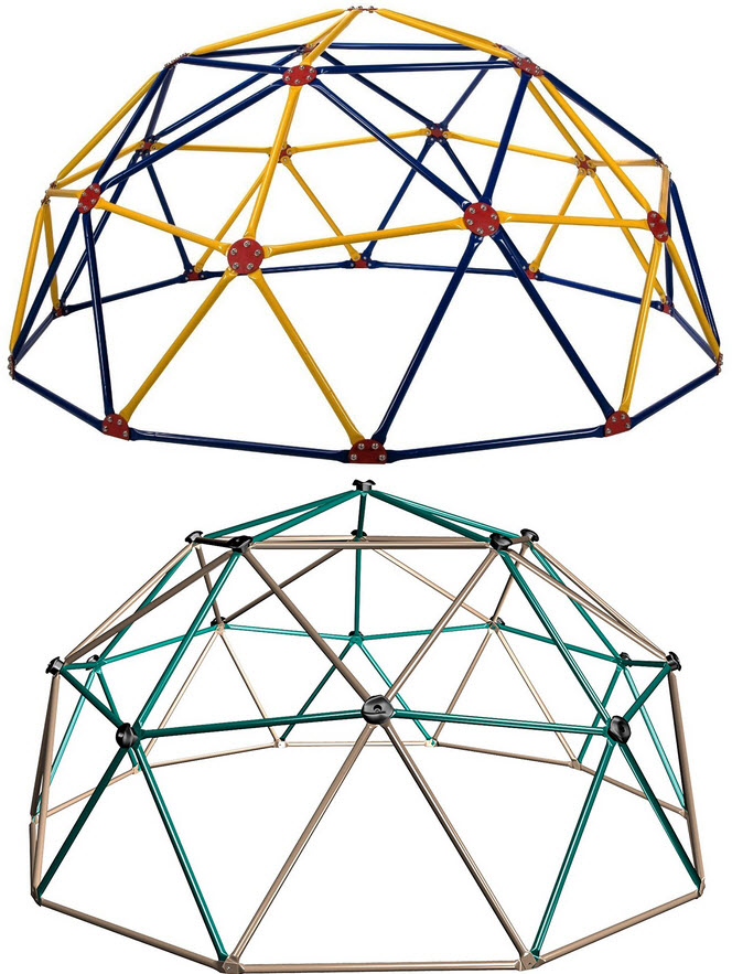 664x883 Geodesic Dome Jungle Gym