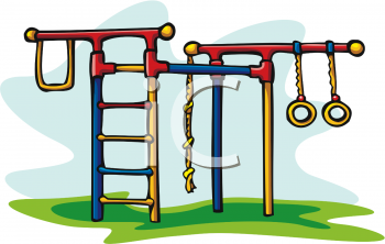 350x222 Jungle Gym Clipart
