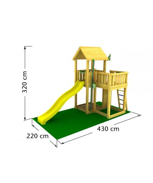 500x600 Jungle Gym Mansion From Play And Sports Call 0141 280 1914
