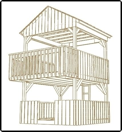 427x461 Simple Playhouse Plans Jungle Gym Plans Plans Can Be