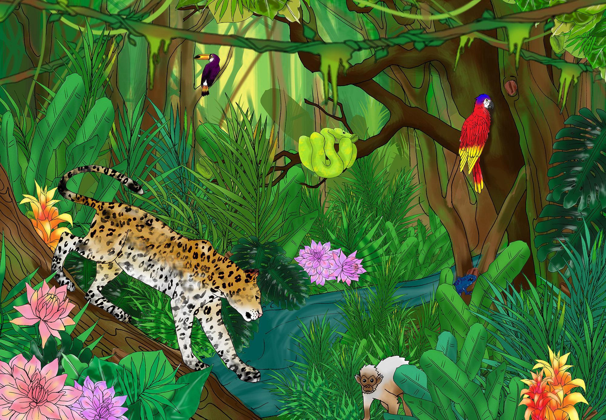 2000x1387 Can You Find The Coffee Beans In This Jungle Scene It Takes Most