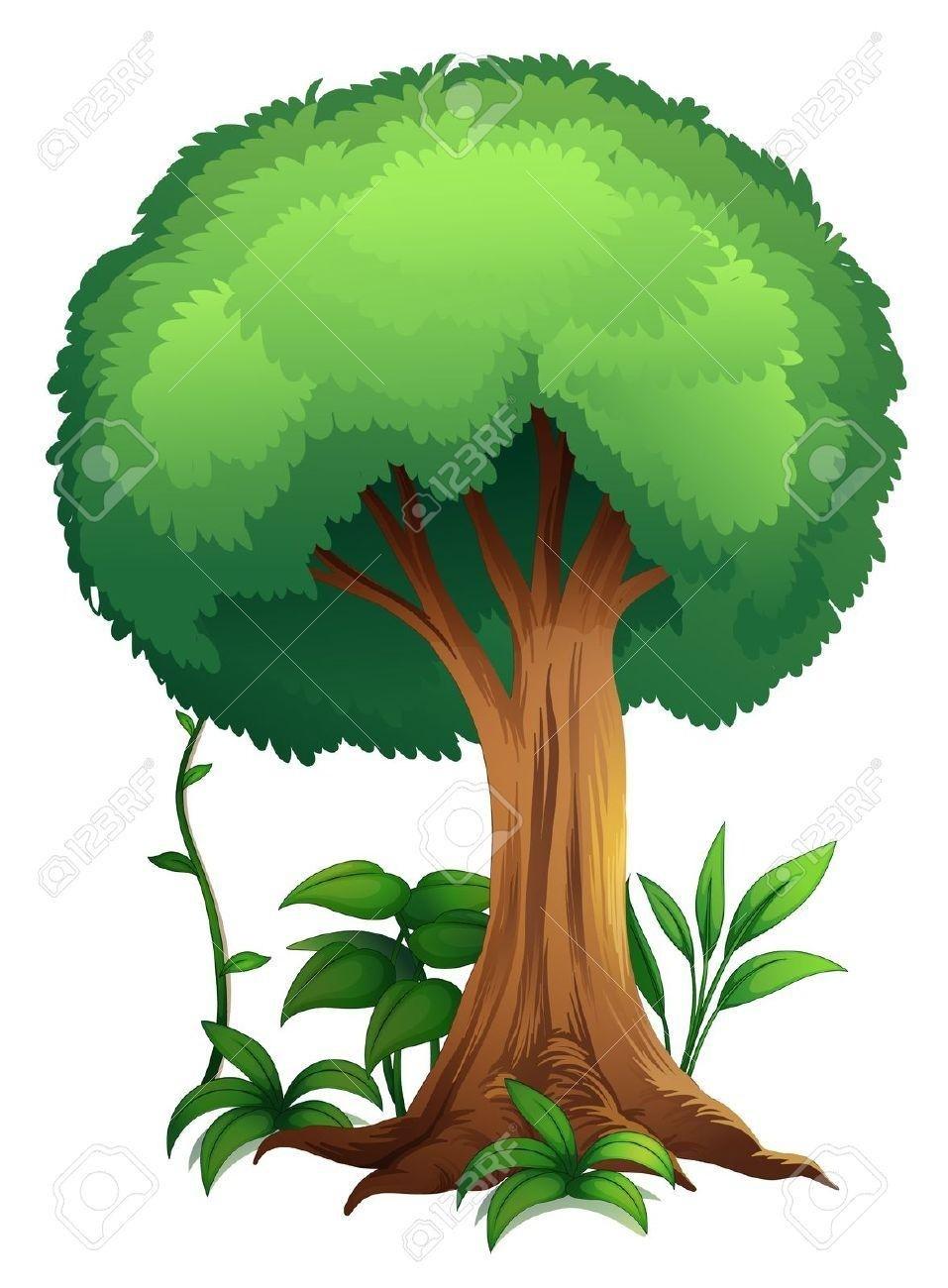 957x1300 Drawn Jungle Jungle Tree