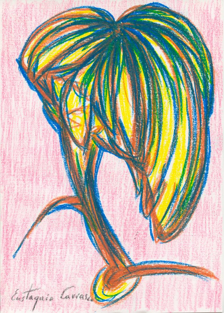 770x1078 Saatchi Art Jungle Tree Drawing By Eustaquio Carrasco
