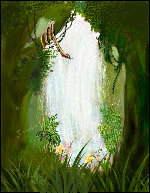 495x640 Wild Art The Top 10 Contest Winners From Jungle Drawing Challenge