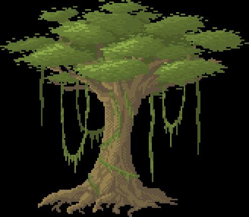 492x429 Jungle Tree By Benthedwarf