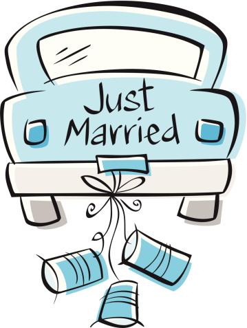 359x477 Just Married Accessoires Pour