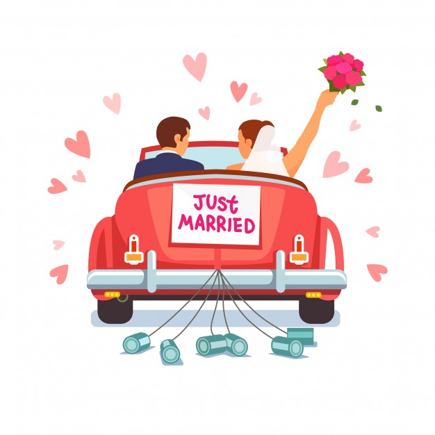 626x626 Just Married Vectors, Photos And Psd Files Free Download