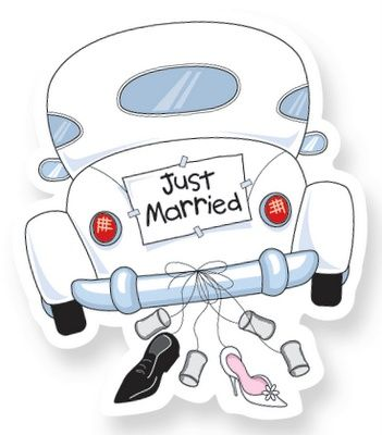 351x400 Just Married Images