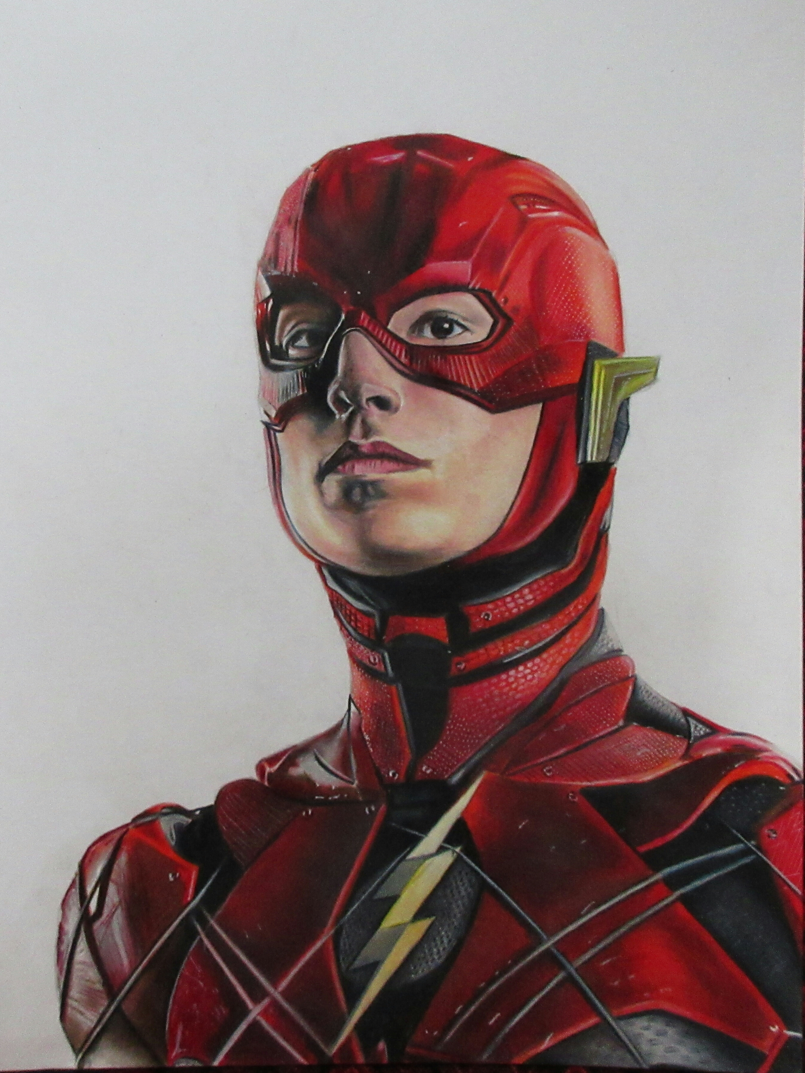 2686x3582 Hello Friends Checkout My Latest Drawing Of The Flash From Justice