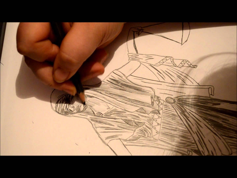 1440x1080 Mythology Inspired Drawing Lady Justice