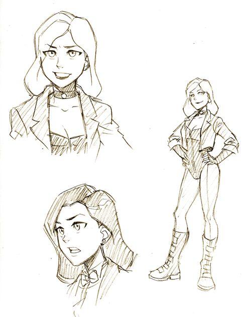 500x631 Robin Dick Grayson Black Canary Dinah Lance Young Justice Aqualad