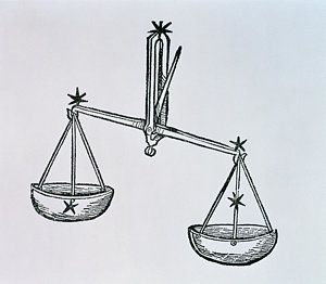 300x262 Justice Scales Drawings Fine Art America