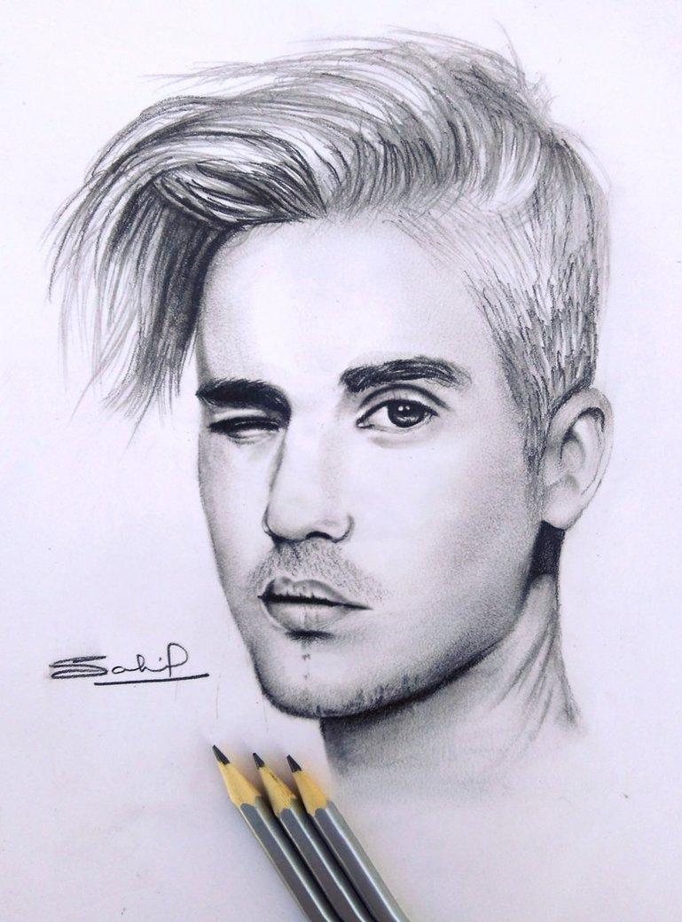 769x1039 Pencil Drawings Of Justin Bieber Pencil Sketch Of Justin Bieber