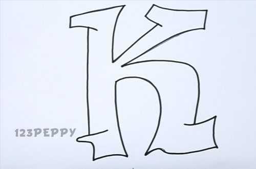 500x330 Graffiti Letter K Graffiti Sample