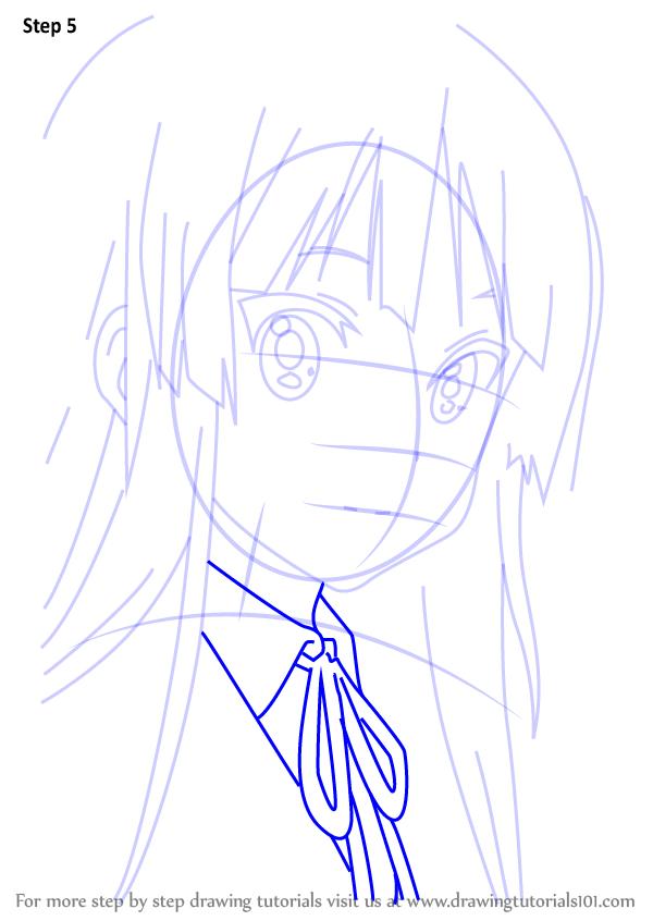 600x846 Learn How To Draw Mio Akiyama From K On!! (K On!!) Step By Step