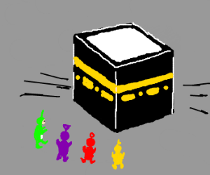 300x250 Teletubbies Converge On The Kaaba