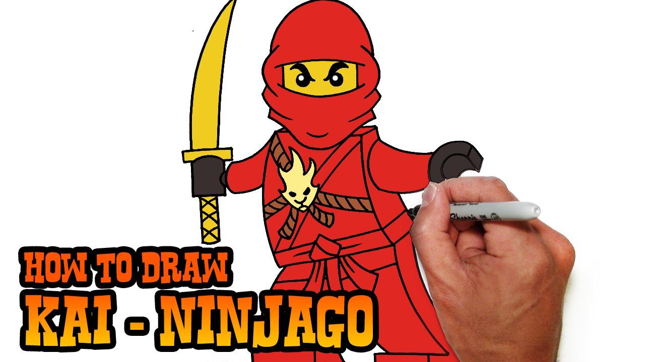 1280x720 How To Draw Kai Ninjago Video Lesson