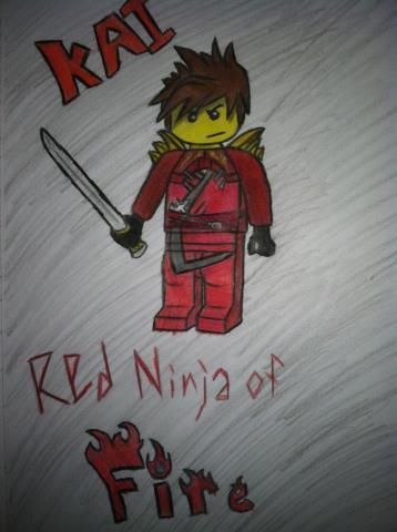358x480 Ninjago Kai By Michaela Teh Ninja